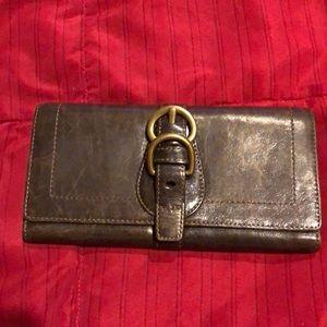 Coach brown wallet